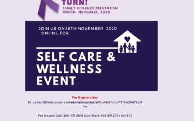 Self-Care & Wellness Event