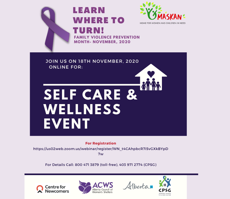 Self-Care & Wellness Event