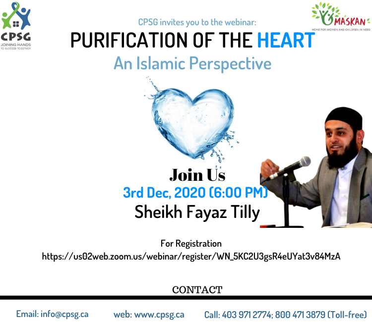 Purification of the Heart- An Islamic Perspective.
