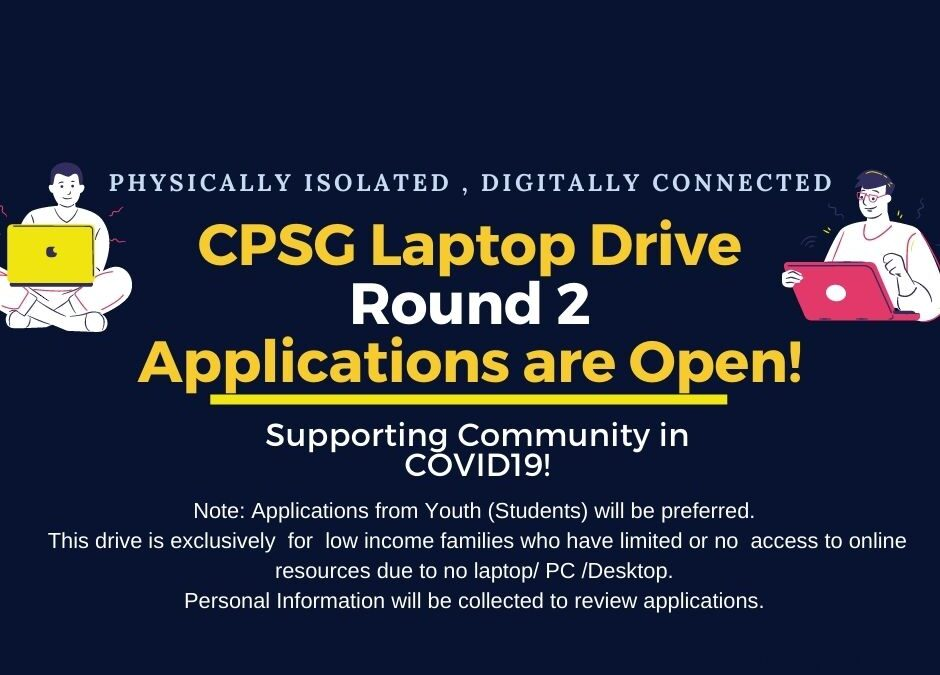 CPSG Laptop Drive- Physically Isolated, Digitally Isolated!