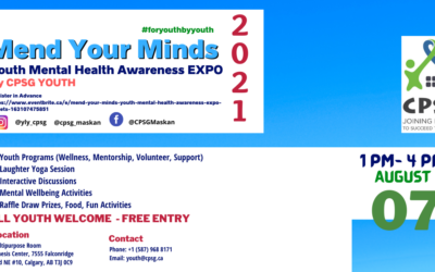 Mend Your Minds! Youth Mental Health Awareness Expo!